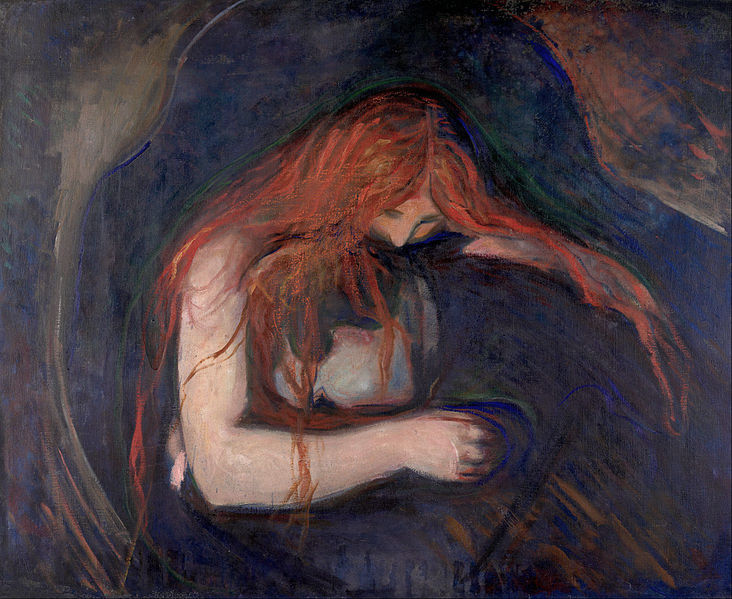 Edward Munch - Vampire