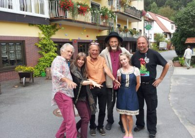 with Guru Guru, Arthur and Angel Flame in Finkenbach, Germany