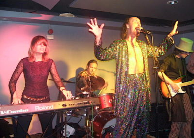 with Arthur Brown and Instant Flight, London, 2007