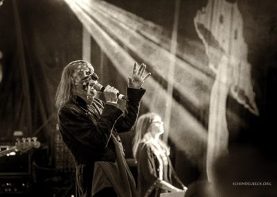 with Arthur Brown playing Finki Festival, Germany