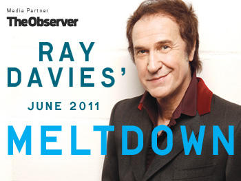 Ray Davies Meltdown 2011, where we played with The Crazy World of Arthur Brown