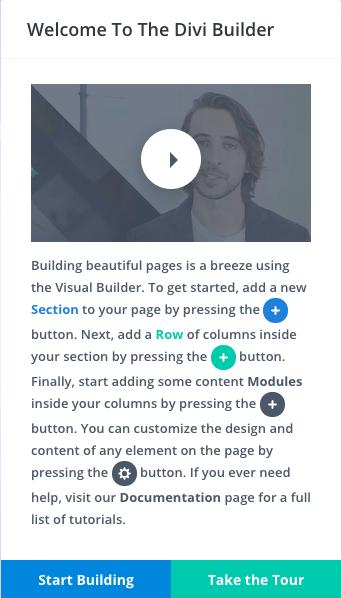Divi Builder Live Demo - From the menu, go to: Divi / Live Builder Demo
