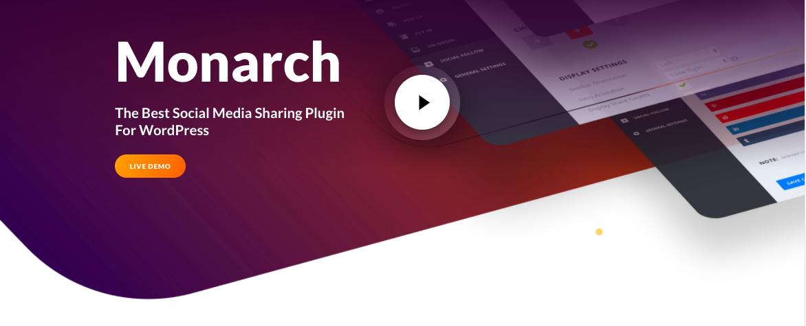 Monarch - Social Sharing plugin
