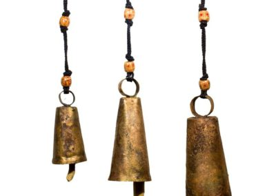 Fair Trade Upcycled India Bells, Multiple Sizes