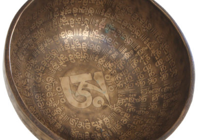 Handmade Special 9 Metal Large Om Singing Bowl