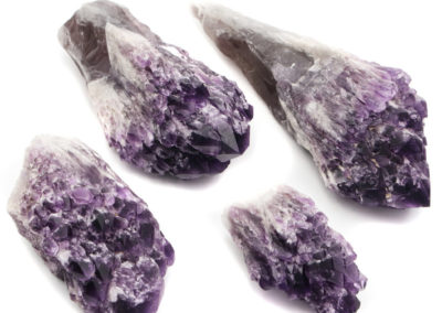 Healing Amethyst Crystal Points, Stunning Gemstone Accents