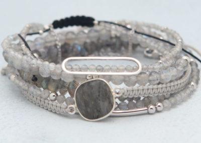 Labradorite Crystal Energy Bracelets, Multiple Styles