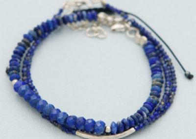 Lapis Lazuli Crystal Energy Bracelets, Multiple Styles
