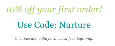 10% discount - code: Nurture