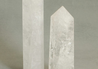 Premium Clear Quartz Point, Prominent Gemstone Tower