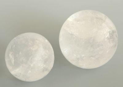Prominent Crystal Quartz Gemstone Spheres