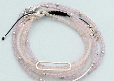 Rose Quartz Crystal Energy Bracelets, Multiple Styles