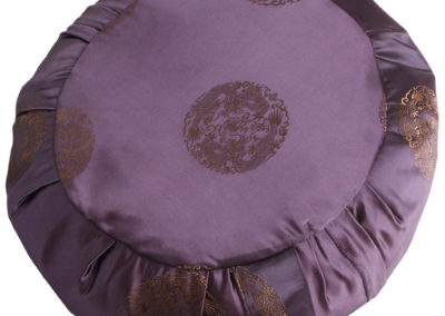 Satin Zafu Cushion with Dragon Design
