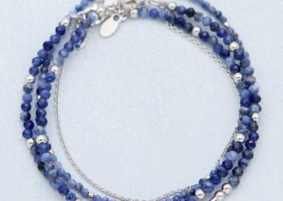 Sodalite Crystal Energy Bracelets, Multiple Styles