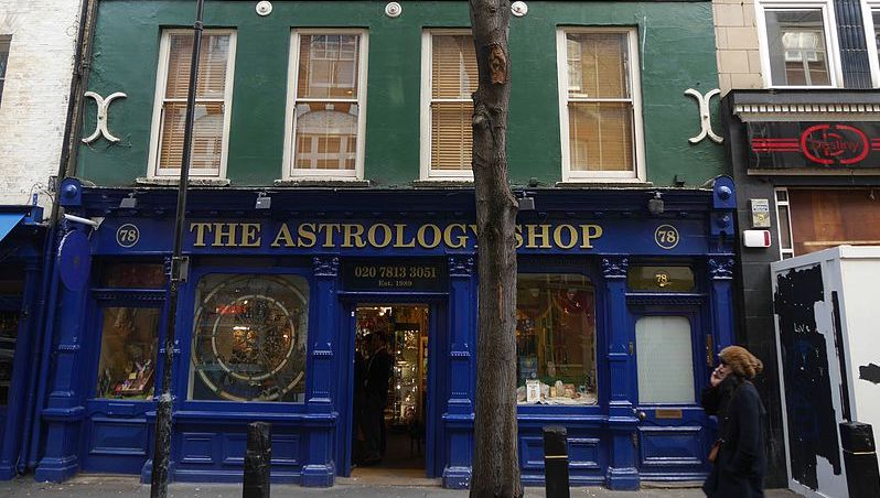 The Astrology Shop, 78 Neal Street, Covent Garden, London