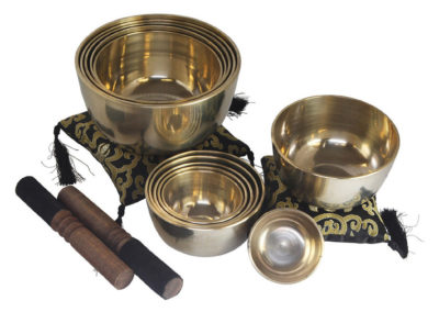Set of 12 Tibetan Singing Bowls