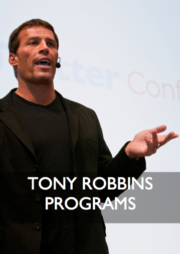 Tony Robbins Programs and Coaching