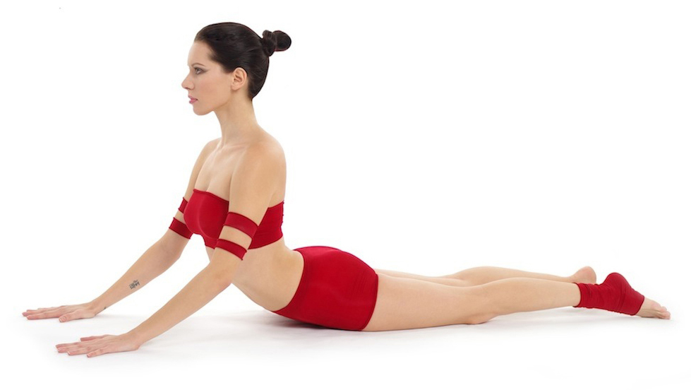 Cobra pose in yoga