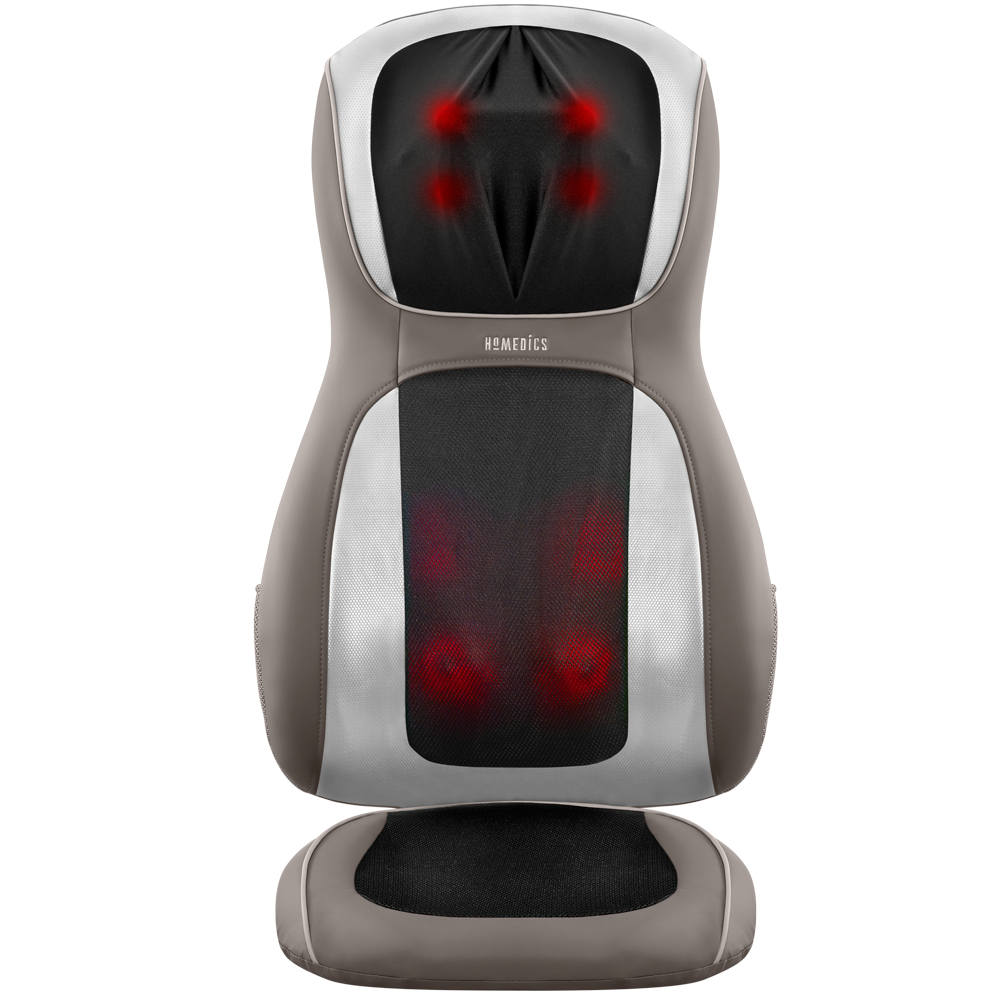 Perfect Touch Masseuse App-Controlled Massage Cushion with Heat by Homedics
