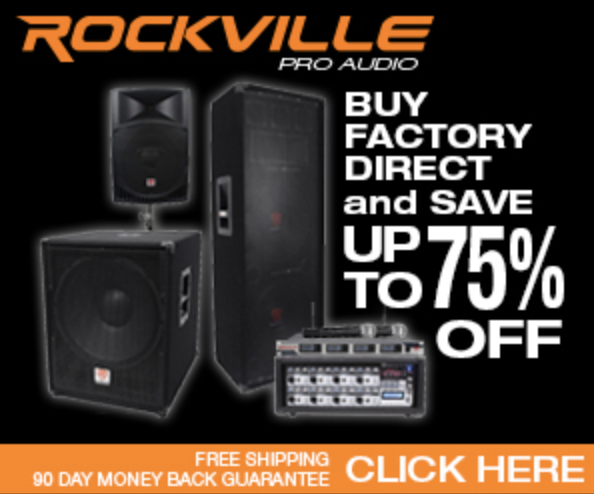 rockville audio store discount