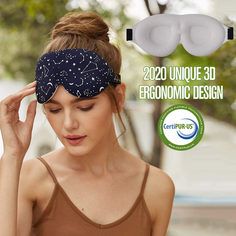ergonomic sleep mask