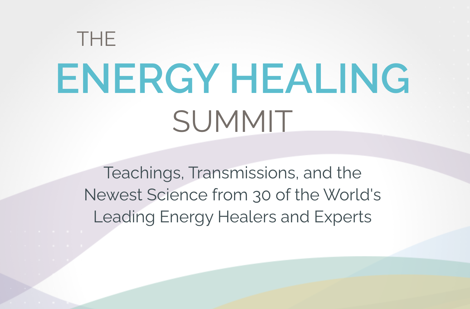 the energy healing summit by sounds true publishing