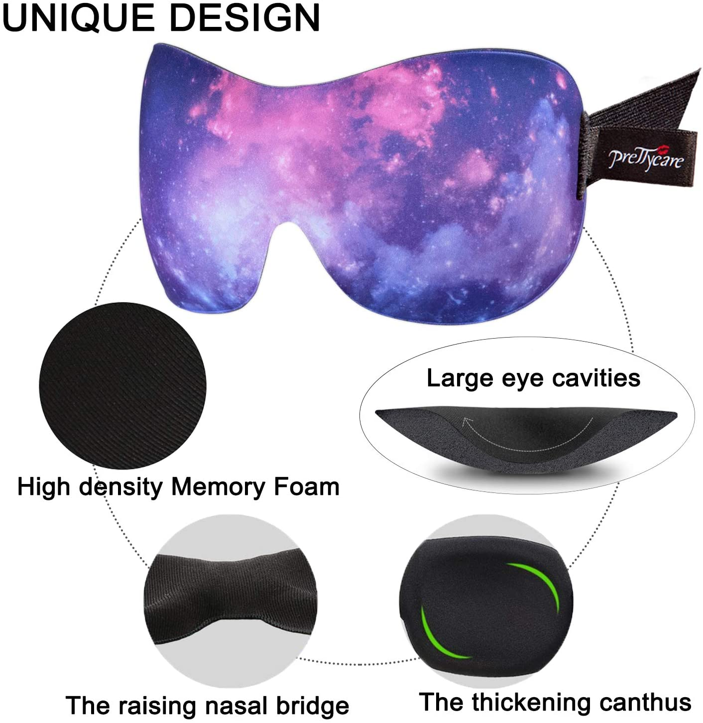 ergonomic sleep mask
