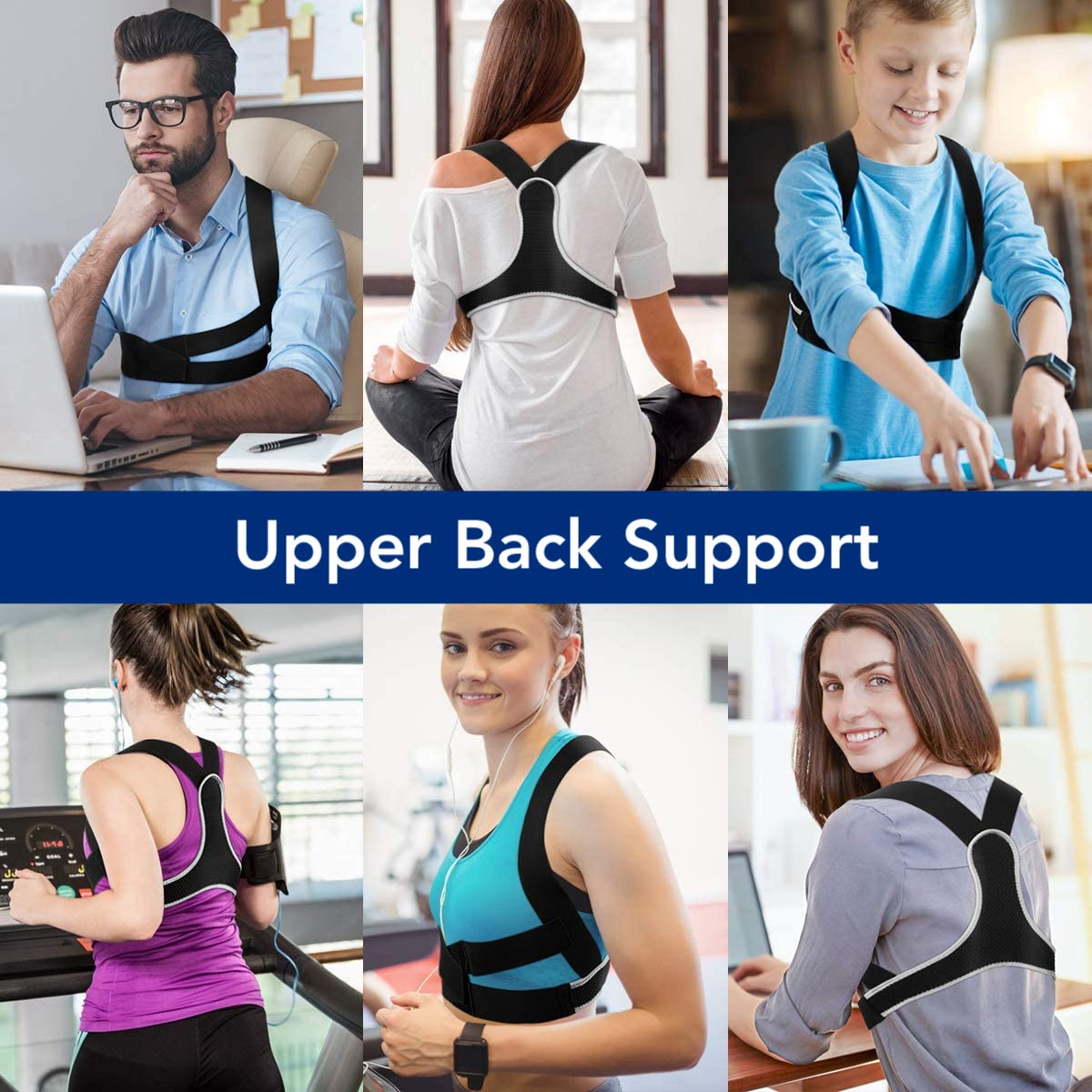 upper back strap for better posture