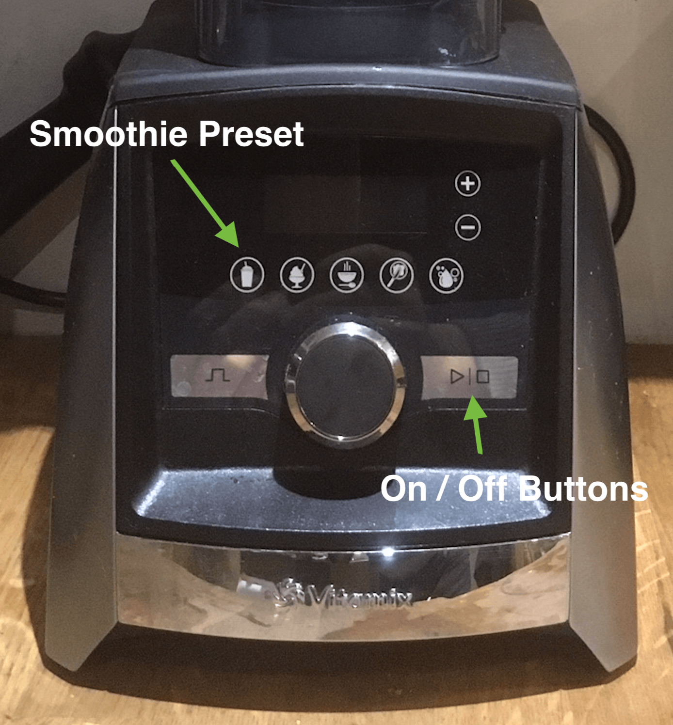 Smootjie preset on Vitamix A3500