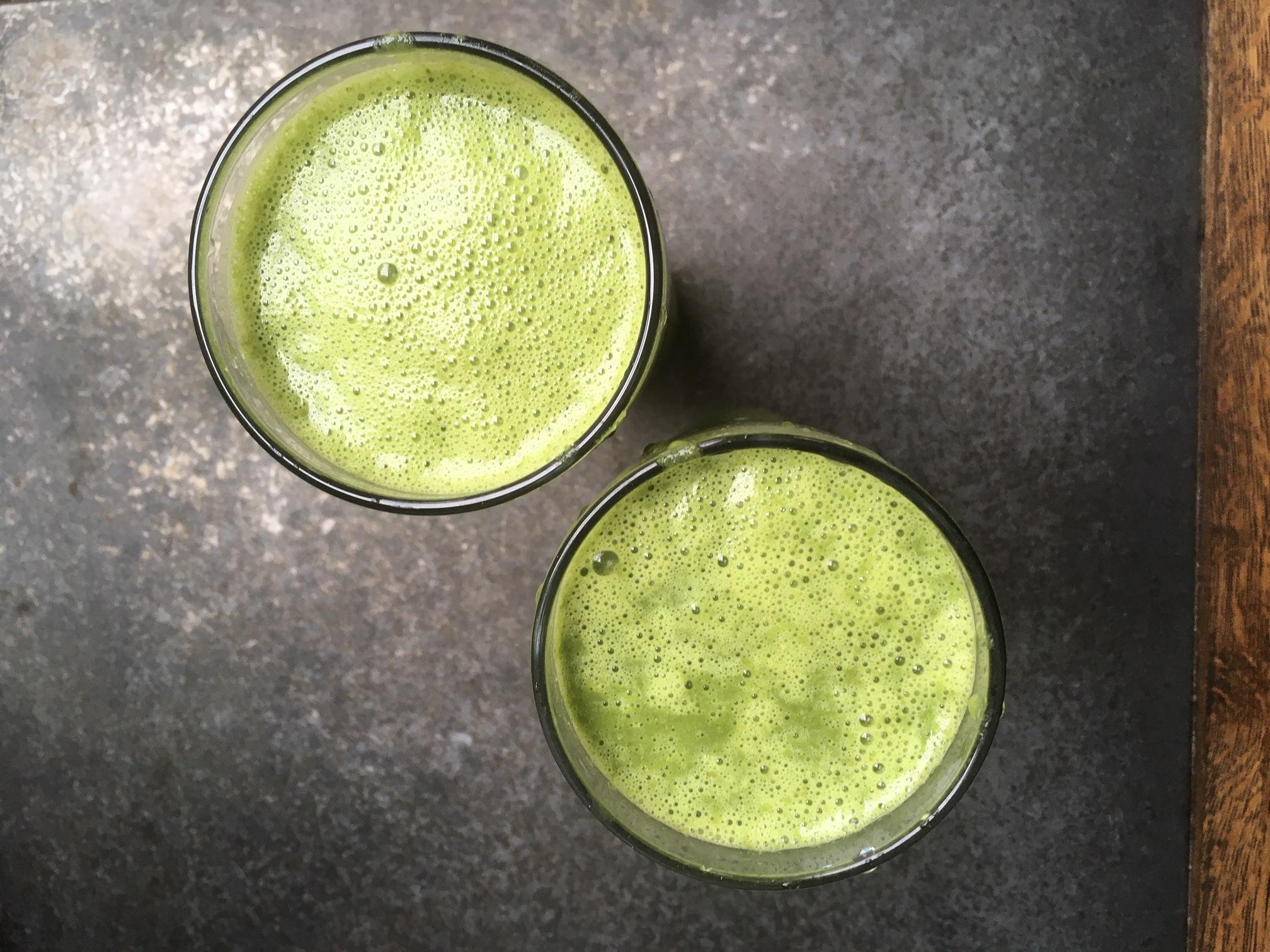 Vitamix green smoothie