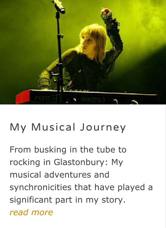 My Musical Journey - Naturegrooves blog