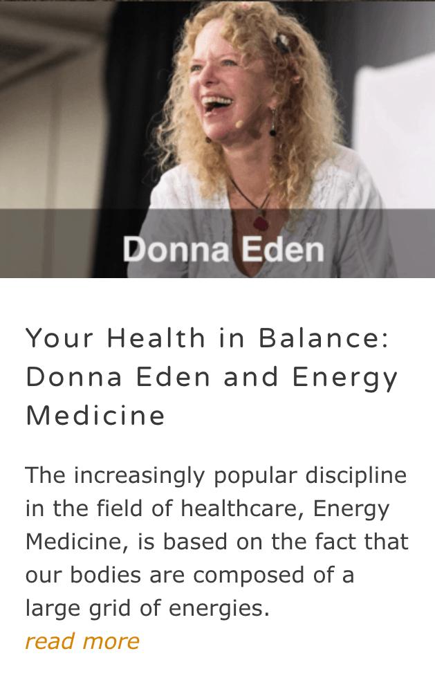 Donna Eden - Energy Medicine