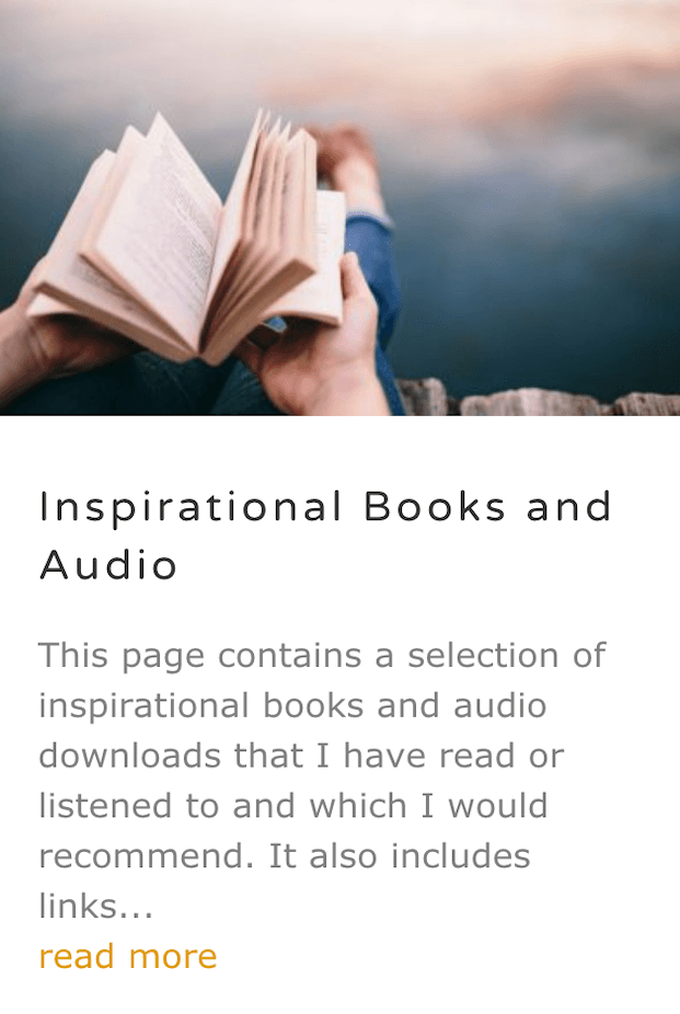 Inspirational Books and Audio