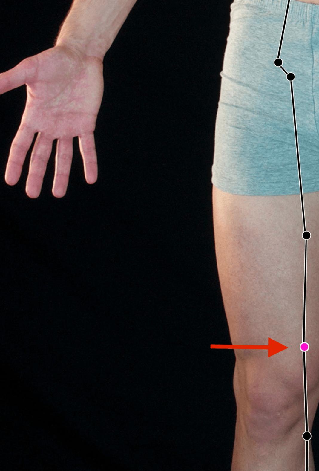 Spleen 10 acupressure point